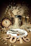 New Years Eve celebration Stock Photo