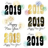 2019 new years eve clipart graphics royalty free illustration