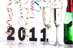 New years eve decoration Stock Photo