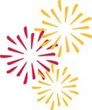 New years eve firework. Vector vector illustration