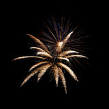 New years eve fireworks Royalty Free Stock Photography