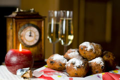 New years eve in Holland Stock Photo