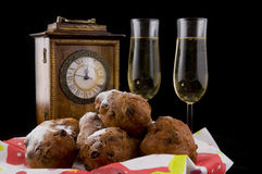 New years eve in Holland Royalty Free Stock Photography