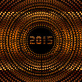 2015 New Years Eve Party. An abstract illustration on 2015 New Years Eve Party stock illustration
