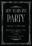 New years eve party background. A new years eve party background stock illustration
