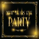 New years eve party background. A new years eve party background royalty free illustration