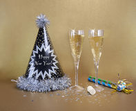 New Years Eve Party Stock Photos
