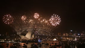 New Years Eve 2013 Sydney-2 stock footage