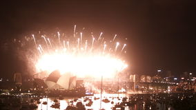 New Years Eve 2013 Sydney-3 stock video footage