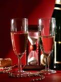 New Years eve toast Stock Photos
