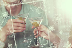 New Years Eve Toast Stock Images
