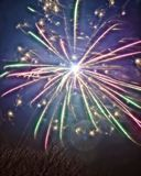 New Years Fireworks. Taken in 2015 Royalty Free Stock Image