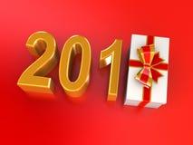 New Years gift 2012 Stock Photo