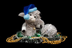 New years goat Stock Image