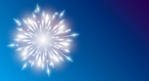 New years greeting card Stock Photography