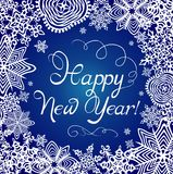 New Years greeting card Royalty Free Stock Photos