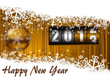 New years illustration Royalty Free Stock Photo