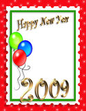 New Years Illustration background or invitation Royalty Free Stock Image