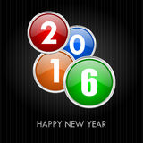 2016 new years illustration Royalty Free Stock Images