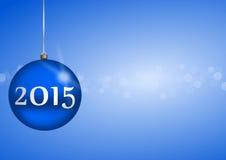2015 new years illustration Stock Photo