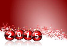 2015 new years illustration Stock Photos