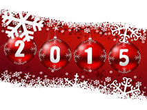 2015 new years illustration Stock Photo