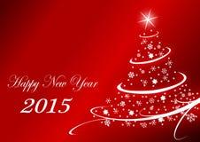 2015 new years illustration Stock Photos