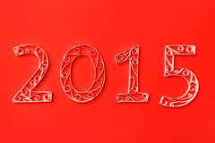2015 new years illustration Royalty Free Stock Photos