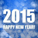 2015 new years illustration Royalty Free Stock Photo