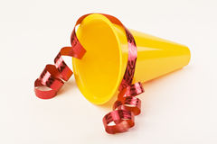 New Years Megaphone Stock Photography
