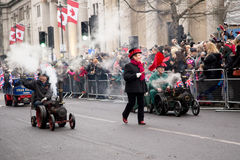 New years parade Stock Photography