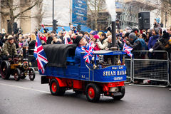 New years parade Royalty Free Stock Image
