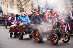 New years parade Royalty Free Stock Images