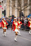 New years parade Royalty Free Stock Photos