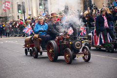 New years parade Stock Image