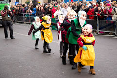 New years parade Royalty Free Stock Photography