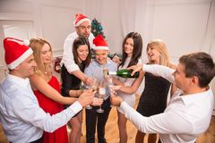 New Years party Royalty Free Stock Image