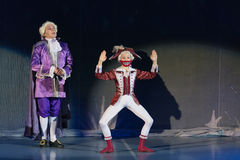 New Years performance The Nutcracker and Mouse King Royalty Free Stock Photos