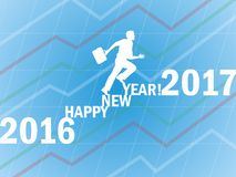 New Years 2017 Royalty Free Stock Images