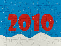 New years puzzle Stock Images