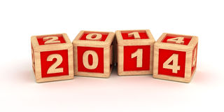 2014 New Years Royalty Free Stock Photo