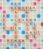 New Years Resolutions Stock Photo