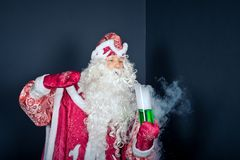 New Years scenes in laboratory 1493. Royalty Free Stock Photo