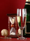 New Years still life Royalty Free Stock Image
