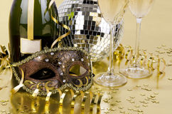 New years still life Royalty Free Stock Photography