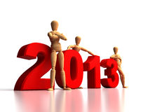 New Years Team Royalty Free Stock Photo