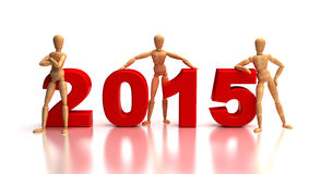 2015 New Years Team Stock Images
