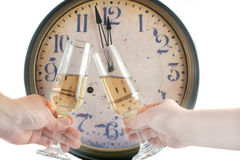 New years toast Royalty Free Stock Photo