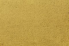 Yellow plaster wall background Royalty Free Stock Photos
