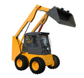 New yellow minitractor Stock Photography